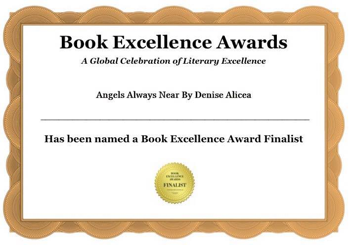 Angels Always Near is a finalist in the Book Excellence Awards!